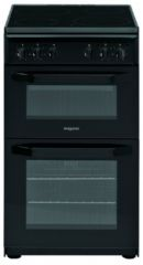 Hotpoint 50cm Electric Twin Cavity Cooker HD5V92KCBUK (Black)